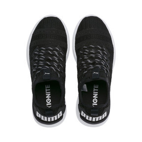 Thumbnail 6 of IGNITE Flash Iridescent Trailblazer Women's Running Shoes, Puma Black-Puma White, medium