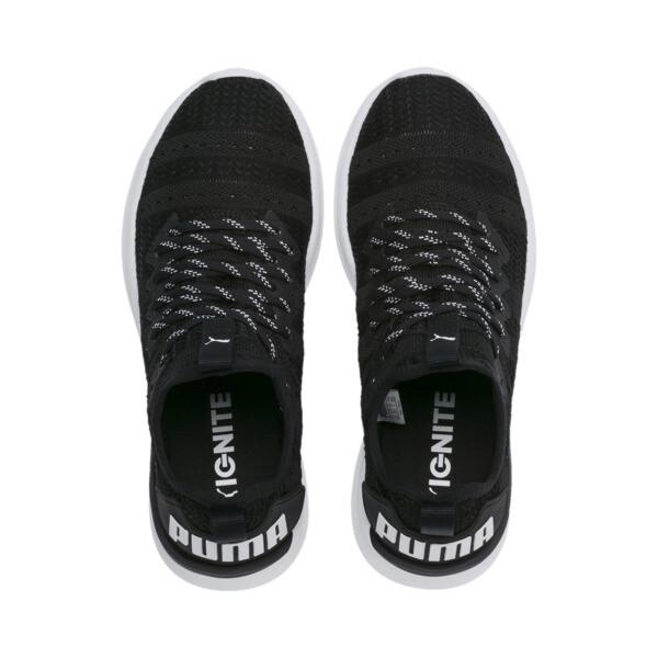 IGNITE Flash Iridescent Trailblazer Women's Running Shoes, Puma Black-Puma White, large