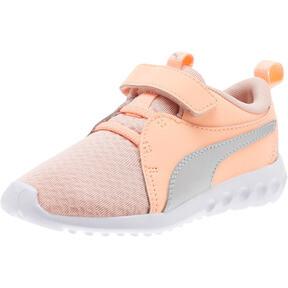 Thumbnail 1 of Carson 2 Metallic AC Little Kids' Shoes, Peach Bud-Bright Peach-White, medium