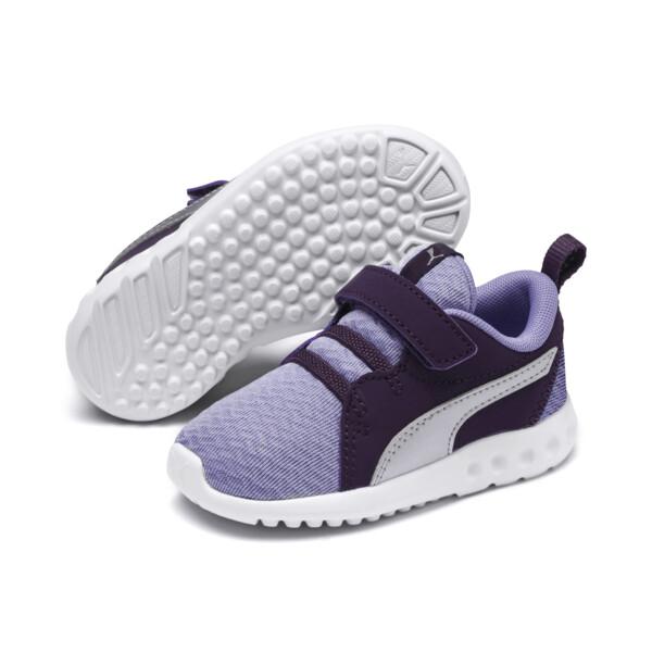 Carson 2 Metallic Toddler Shoes, Sweet Lavender-Indigo, large
