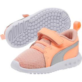 Thumbnail 2 of Carson 2 Metallic Toddler Shoes, Peach Bud-Bright Peach-White, medium
