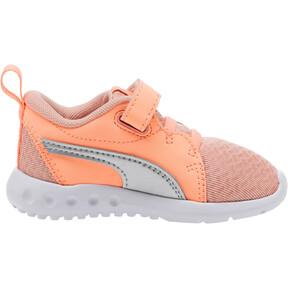 Thumbnail 3 of Carson 2 Metallic Toddler Shoes, Peach Bud-Bright Peach-White, medium