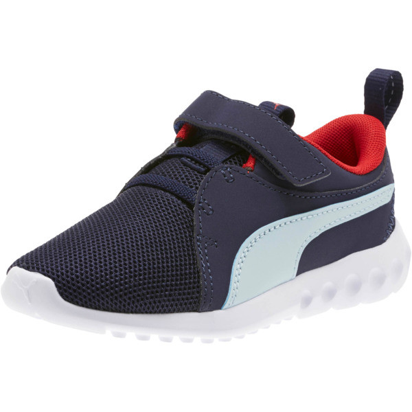 Carson 2 Casual AC Sneakers PS, Peacoat-Light Sky-Red, large
