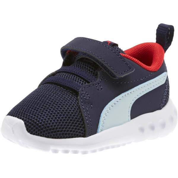 Carson 2 Casual Toddler Shoes, Peacoat-Light Sky-Red, large