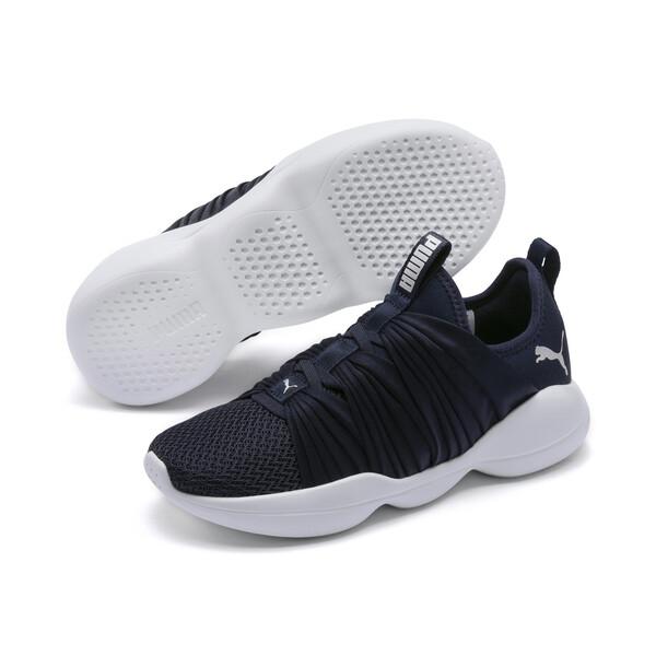 Flourish Women's Training Shoes, Peacoat-Puma White, large