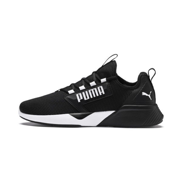 Retaliate Men's Training Shoes, Puma Black-Puma White, large