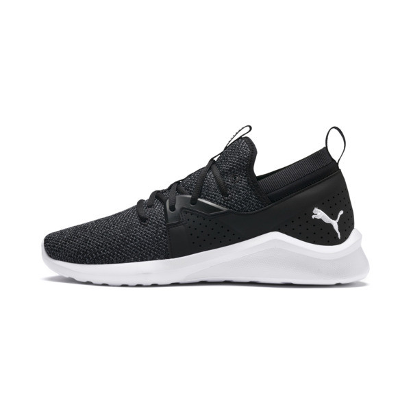 Emergence Men's Sneakers, Puma Black-Puma White, large