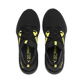 Thumbnail 6 of Emergence Future Men's Training Shoes, Black-Charcoal-Yellow, medium