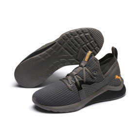 Thumbnail 1 of Emergence Future Men's Training Shoes, Charcoal Gray-Black-Orange, medium