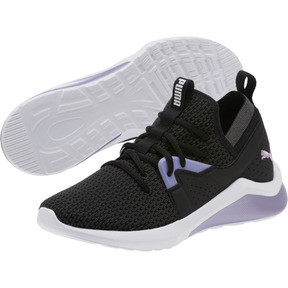 Thumbnail 2 of Emergence Cosmic Women's Sneakers, Puma Black-Sweet Lavender, medium