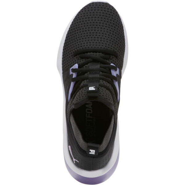 Emergence Cosmic Women's Sneakers, Puma Black-Sweet Lavender, large