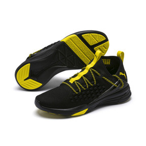 Thumbnail 2 of Mantra Caution Men's Training Shoes, Puma Black-Blazing Yellow, medium