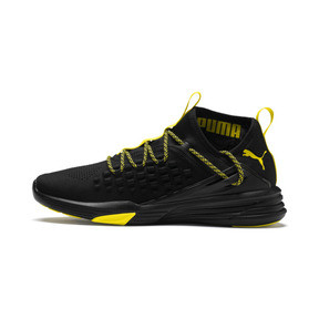 Thumbnail 1 of Mantra Caution Men's Training Shoes, Puma Black-Blazing Yellow, medium