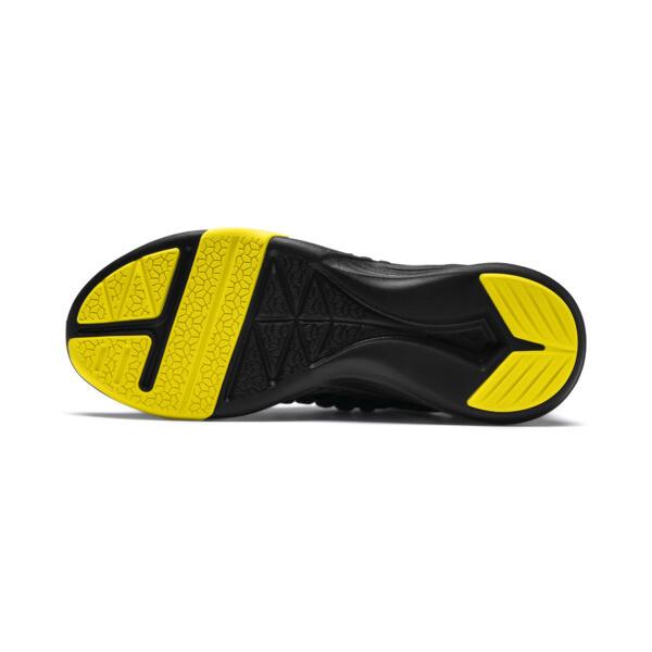 Mantra Caution Men's Training Shoes, Puma Black-Blazing Yellow, large