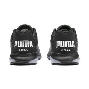 Thumbnail 3 of Cell Ultimate Point Knitted Men's Running Shoes, Puma Black-Puma White, medium