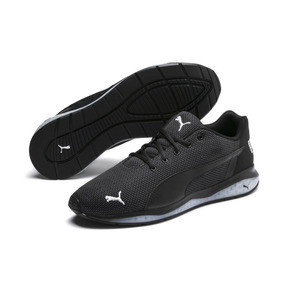 Thumbnail 2 of Cell Ultimate Point Knitted Men's Running Shoes, Puma Black-Puma White, medium