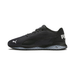 Thumbnail 1 of Cell Ultimate Point Knitted Men's Running Shoes, Puma Black-Puma White, medium