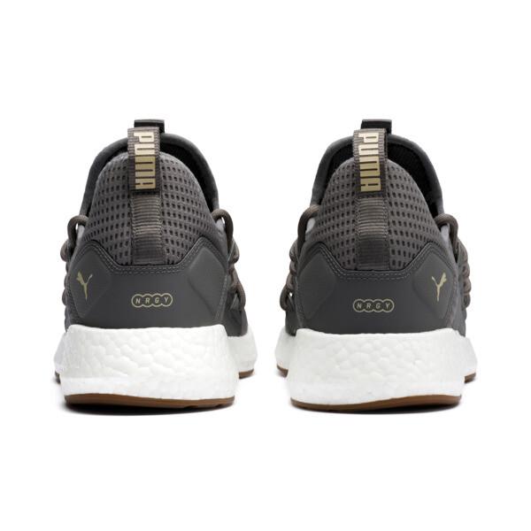NRGY Neko Future Men's Running Shoes, Charcoal Gray-Taos Taupe, large
