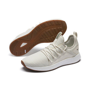 Thumbnail 2 of NRGY Neko Future Men's Trainers, Whisper White-Olivine, medium