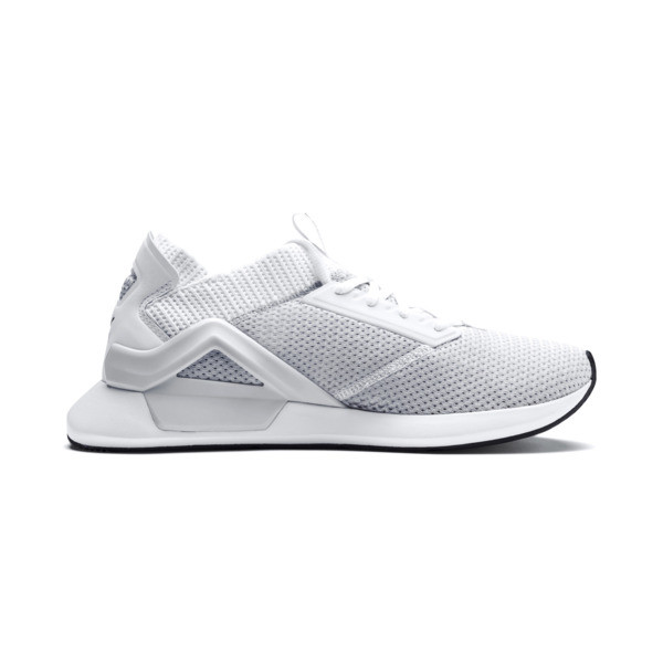 Rogue Men's Running Shoes, Puma White-Puma Black, large