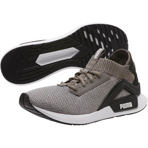 Thumbnail 2 of Rogue Men's Running Shoes, Charcoal Gray-Puma Black, medium