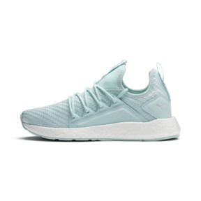 Thumbnail 1 of NRGY Neko Cosmic Women's Running Trainers, Fair Aqua-Puma White, medium