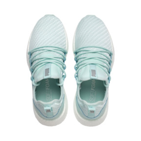 Thumbnail 6 of NRGY Neko Cosmic Women's Running Trainers, Fair Aqua-Puma White, medium