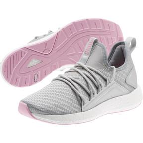 Thumbnail 2 of NRGY Neko Cosmic Women's Training Shoes, Puma Silver-Lilac Sachet, medium
