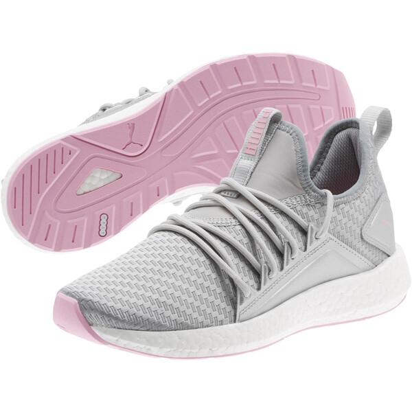 NRGY Neko Cosmic Women's Training Shoes, Puma Silver-Lilac Sachet, large