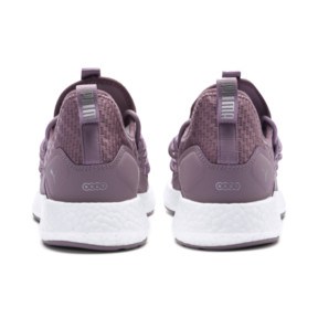Thumbnail 4 of NRGY Neko Cosmic Women's Running Trainers, Elderberry-Puma White, medium