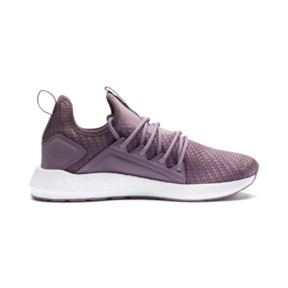 Thumbnail 5 of NRGY Neko Cosmic Women's Running Trainers, Elderberry-Puma White, medium