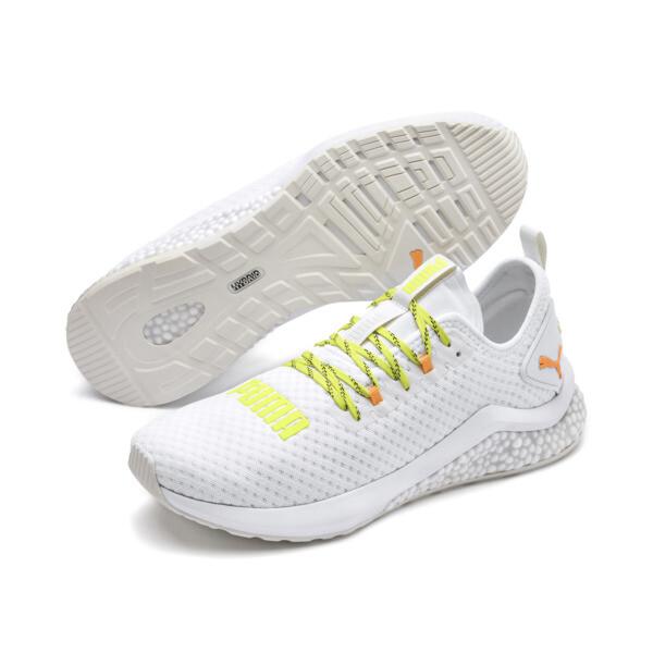 HYBRID NX Daylight Men's Running Shoes, White-Orange Pop-FizzyYellow, large