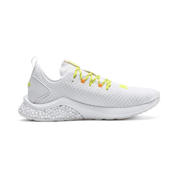 HYBRID NX Daylight Herren Sneaker, White-Orange Pop-FizzyYellow, large