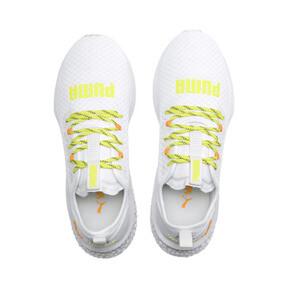 Thumbnail 7 of HYBRID NX Daylight Men's Running Shoes, White-Orange Pop-FizzyYellow, medium