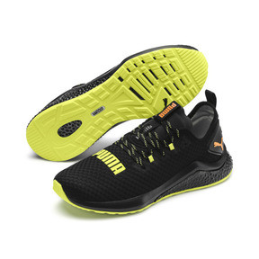 Thumbnail 2 of HYBRID NX Daylight Men's Running Shoes, Black-FizzyYellow-OrangePop, medium