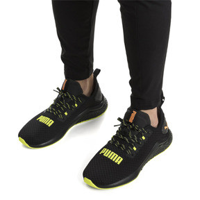 Thumbnail 2 of HYBRID NX Daylight Men's Trainers, Black-FizzyYellow-OrangePop, medium