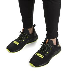 Thumbnail 2 of HYBRID NX Daylight Men's Running Shoes, Black-FizzyYellow-OrangePop, medium