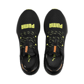 Thumbnail 7 of HYBRID NX Daylight Men's Trainers, Black-FizzyYellow-OrangePop, medium