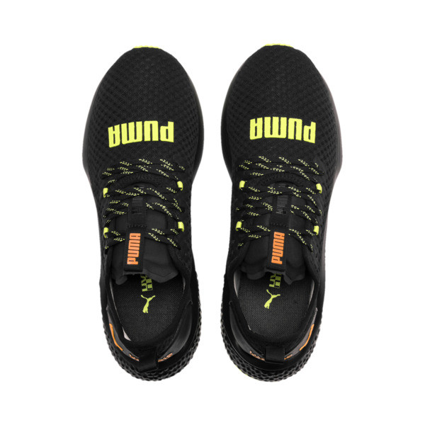 HYBRID NX Daylight Men's Trainers, Black-FizzyYellow-OrangePop, large