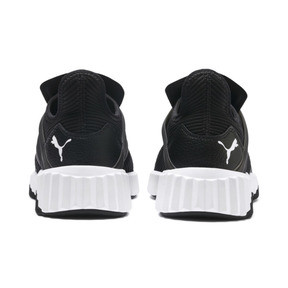 Thumbnail 3 of Defy Cage Women's Trainers, Puma Black-Puma White, medium