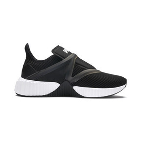 Thumbnail 5 of Defy Cage Women's Trainers, Puma Black-Puma White, medium