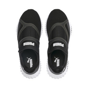 Thumbnail 6 of Defy Cage Women's Trainers, Puma Black-Puma White, medium