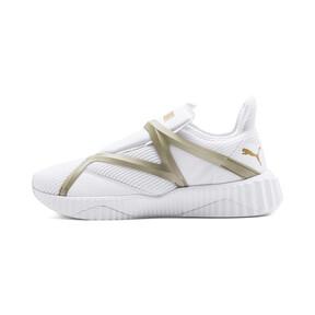 Thumbnail 1 van Defy Cag sportschoenen voor vrouwen, Puma White-Gold, medium
