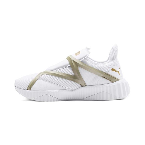 Defy Cag sportschoenen voor vrouwen, Puma White-Gold, large