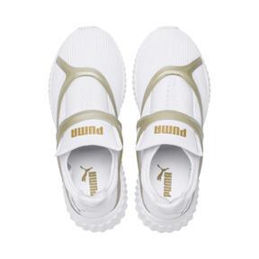 Thumbnail 6 van Defy Cag sportschoenen voor vrouwen, Puma White-Gold, medium