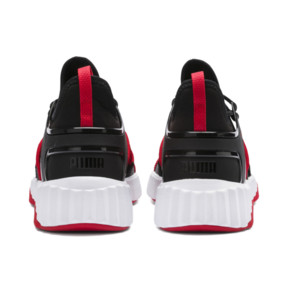 Thumbnail 4 of ディファイ デコ, Puma Black-High Risk Red, medium-JPN