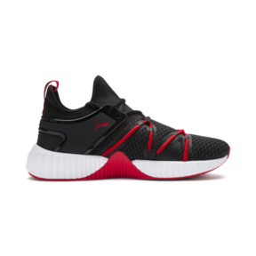 Thumbnail 5 of ディファイ デコ, Puma Black-High Risk Red, medium-JPN