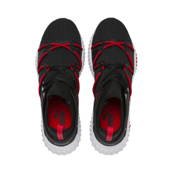 Defy Deco Men's Training Shoes, Puma Black-High Risk Red, large