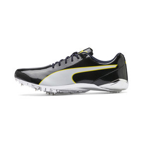 Thumbnail 1 of evoSPEED Electric 7 Training Shoes, Black-Blazing Yellow-White, medium