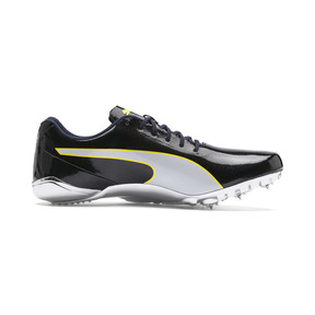Thumbnail 5 of evoSPEED Electric 7 Training Shoes, Black-Blazing Yellow-White, medium